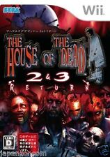 Used Wii The House of the Dead 2 3  NINTENDO JAPAN JP JAPANESE JAPONAIS IMPORT