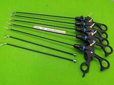7 PC Laparoscopic Basic Surgical Instrument 5mmx330mm Endoscopy Instruments