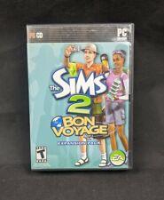 Sims 2: Bon Voyage Expansion Pack (PC, 2007) 2 Discs