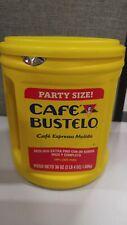 Cafe Bustelo Espresso Ground Coffee, 36 Oz Canister