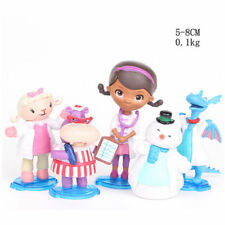 8e2d422170e 5 DISNEY JUNIOR DOC MCSTUFFINS NURSE ACTION FIGURES DOLL CAKE TOPPER DECOR  TOY