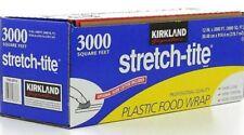 Kirkland Signature Stretch-Tite Premium Plastic Food Wrap 12