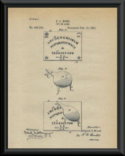 Ouija Board Patent Reprint On 100 Year Old Paper - Ghost Hunting Psychic *P100