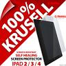 Krusell Self-Healing Screen Protector Scratch Guard Film for Apple iPad 2 3 4