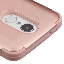 LG Harmony / V5 / K20 Plus / K20V - Hybrid Shockproof Armor Phone Case Rose Gold