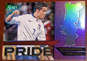 2015-16 Panini Select Cristiano Ronaldo National Pride Purple /99 Portugal 2016