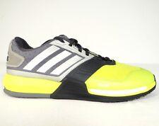 more photos 055ae 456b2 Adidas Crazy Train Boost Solar Yellow  Gray Running Training Shoes Mens 8  NEW