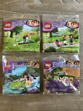 NEW Lego Friends LOT of 4 Building Toy Set Polybag