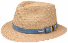 Stetson Summer Straw Hat Hemp Traveller Conargo 73 Natural New Trend