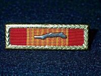 Vietnam War RVN Gallantry Cross Unit Citation with Palm & Frame, Clutch Back VG+