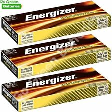 30 x Pilas alcalinas Energizer Industrial AAA 1.5 V LR03, MN2400, Micro Mini