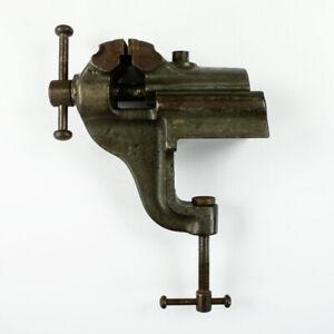 Präzisions Schraubstock Boley C60 Leinen Uhrmacher Feinmechaniker 60 mm Vintage