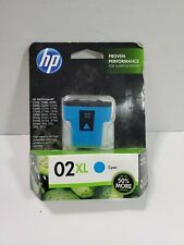HP 02 XL-Cyan Original Ink Cartridge-Expired-Photosmart-Print Office-Color