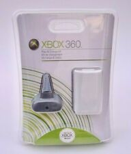 Official Microsoft Xbox 360 Play & Charge Kit X11-22117-04 OEM Brand New Sealed