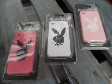 3 X PLAYBOY Hard Protective Phone Case Accessory for APPLE iPhone 4/ 4S