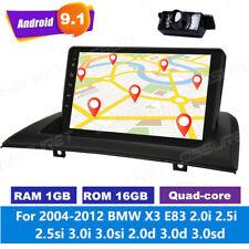 for 2004-2012 BMW X3 E83 Android 10.0 9'' Car GPS Radio Bluetooth DAB+WIFI 4G FM
