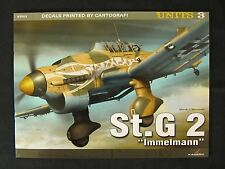 """Kagero Book: St.G 2 """"Immelmann"""" - Decals - Color Profiles"""
