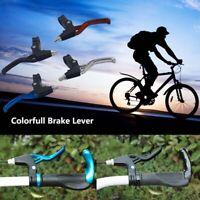 Lightweight ALLOY Brake Levers 2-finger Mountain Bike Bicycle BMX MTB V-Brake