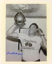 Luis Rodriguez signed b&w boxing photo 1937-1996