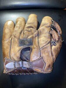 1930's Antique Draper And Maynard Walter Berger Baseball Glove
