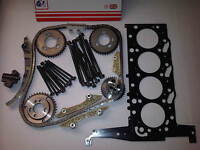FORD TRANSIT MK6 2.4 TD TDCi DIESEL TIMING CHAIN KIT + HEAD GASKET & HEAD BOLTS