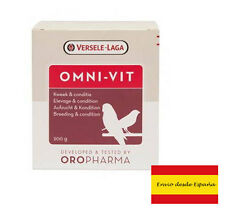 10g Omni VITAMINE Verselege LAGA pour oiseaux sauvages perroquets canaries