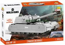 Panzer VIII Maus - COBI 3024 - VERY LARGE 890 brick heavy tank model set