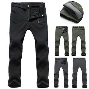 Mens Waterproof Hiking Tactical Trousers Outdoor Walking Combat Pants Size M-3XL