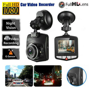 "1080P 2.4"" Lens HD Car DVR Video Dash Cam Recorder Camera G-Sensor Night Vision"