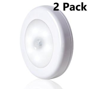 6 LED Motion Sensor Closet Light Battery Powered Indoor Wall Cabinet Night Light