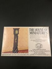 House Of Miniatures Doll House Furniture Kit Sealed New 40018 William & Mary Clk