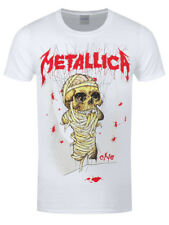 Metallica One Landmine Men's White T-shirt