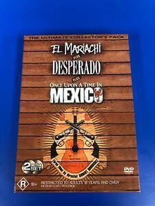 El Mariachi plus Desperado plus Once Upon a Time in Mexico DVD collectors pack