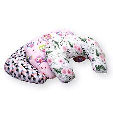 Stillkissen mit Bezug Baby Stillen Lagerungkissen klein 60x50cm Baumwolle 100%