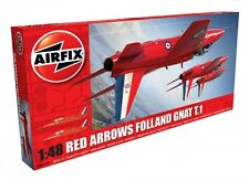 Airfix Red Arrows Folland Gnat T1 1:48 Scale Plastic Model A05124