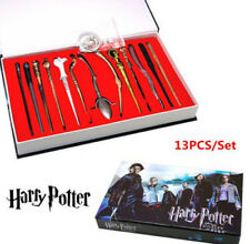 Harry Potter HPMS Magic Wand Keychains Charms Pendant Necklace Cosplay 13pcs/set