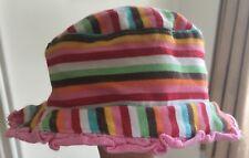 Baby Girls Next Striped Hat Size 3 Months