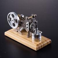 Miniature Heat Steam Stirling Engine Motor Model DIY Science Toy Creative
