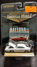 Ertl American Muscle 1969 69 White Dodge Daytona Muscle Car 1:64 Diecast