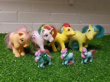 My Little Pony MLP G1 Bundle - Peachy Windy Tootsie Pretty Vision