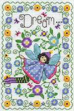 Cross Stitch Kit ~ Design Works Dream Fairy #DW3223