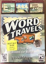Word Travels PC Puzzle Game, Windows 98/2000/ME/XP, Brand New
