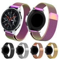 21mm Milanese Magnetic Loop Edelstahl Uhrenarmband für Samsung Galaxy Watch 46mm