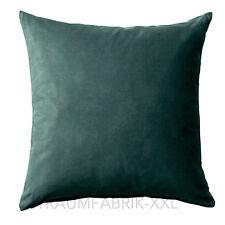 IKEA Mr __ Housse de coussin vert foncé décoratif Taie d'oreiller 50x50cm écrit