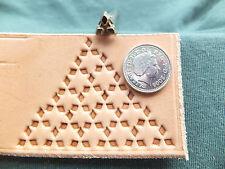 Raro-Vintage 1980 Kelly Midas Cuero Stamp Tool Craft 160 Nueva Zelanda