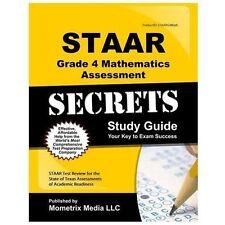 STAAR Grade 4 Mathematics Assessment Secrets Study Guide: STAAR Test Review for