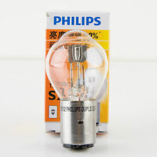 Philips Scooter Headlight Bulb S2 12V 35/35W BA20d - 30% Brighter than Stock!