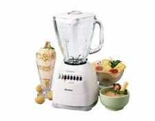 OSTER BLENDER ++12 SPEED +WITH GLASS JAR +(WHITE) (NEW)