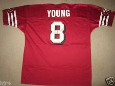 Steve Young #8 San Francisco 49ers NFL Champion Jersey 52