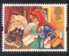 GB 1994 Greetings/Wolf/Red Riding Hood/Books/Stories/Tales/Animation 1v (b6283g)